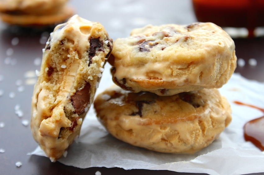 The Treats Truck's Caramel Creme Sandwich Cookies Recipe — Dishmaps